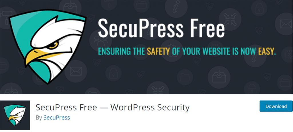 SecuPress Free — WordPress Security plugin keamanan wordpress terbaik